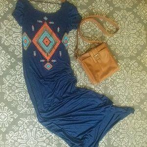 Tribal patio dress